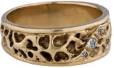Ring Textured Diamond Band