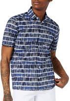 Topman Tile-Printed Shirt