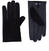 Barneys New York Men's Tech-Smart Gloves-BLACK