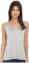 BB Dakota Leana Rayon Jersey and Scalloped Lace Tank Top