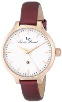 Lucien Piccard Women's LP-12917-RG-02-BUR Lleida Analog Display Japanese Quartz Red Watch
