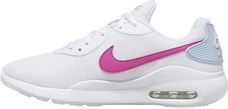 Nike Oketo (White/Fire Pink/Hydrogen Blue) Women's Cross Training Shoes