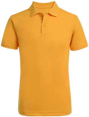 Nautica Short Sleeve Performance Polo Uniform Shirt (Big Boys)
