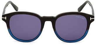 Tom Ford Jameson 50MM Round Sunglasses