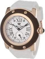 Glam Rock Women's Summer Time 46mm Silicone Band Swiss Quartz Watch Gr30016mw