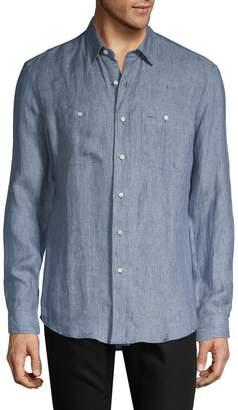 Ralph Lauren Long-Sleeve Chambray Shirt