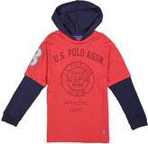 U.S. Polo Assn. Apple Cinnamon & Navy 'U.S. Polo Assn.' Hoodie - Boys
