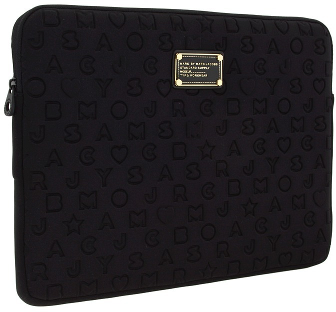 Marc by Marc Jacobs Stardust Logo Neoprene 15 Computer Case