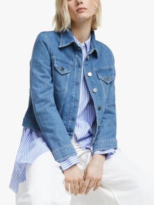 Mother of Pearl Organic Cotton Denim Jacket, Indigo