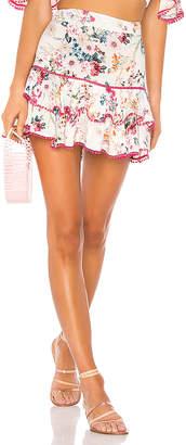 Charo Ruiz Ibiza Fera Floral Short Skirt