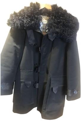 Acne Studios Black Cotton Coat for Women