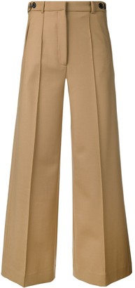 Rokh Cropped Wide-Leg Trousers