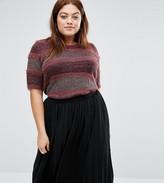 Junarose Textured Knitted Jumper