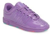 K-Swiss Girl's Classic Patent Sneaker