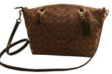 Coach Signature Kelsey Satchel Shoulder Bag Handbag