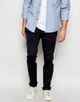 Diesel Chinos Chi-tight-x Slim Fit Stretch Cotton - Navy