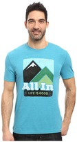 Life is Good All In Mountains Cool Tee