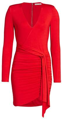 Alice + Olivia Kyra Ruched Bodycon Dress