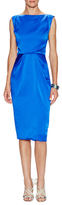 Zac Posen Boatneck Sheath Dress