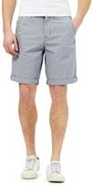 Red Herring Grey Square Checked Chino Shorts