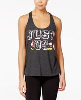 Disney Juniors' Mickey & Minnie Mouse Just Us Graphic Tank Top