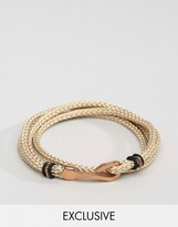 Seven London Hook Bracelet In Cream Exclusive To Asos