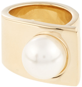 Givenchy Faux-pearl ring
