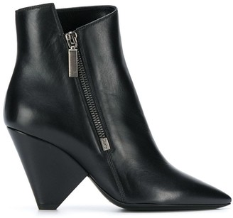 Saint Laurent Niki wedge bootie