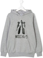 Moschino Kids hooded sweatshirt