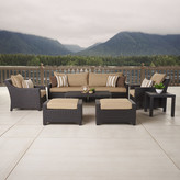 Three Posts Northridge 8 Piece Deep Seating Group with Cushions
