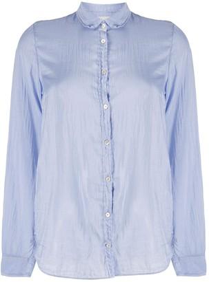 Forte Forte Long-Sleeved Semi-Sheer Shirt