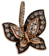 LeVian Le Vian 14K Diamond Butterfly Pendant