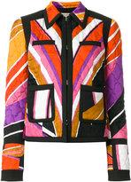 Emilio Pucci quilted printed jacket - women - Silk/Cotton/Polyester/Spandex/Elastane - 38