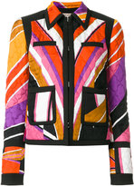 Emilio Pucci quilted printed jacket