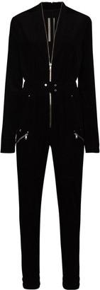 Rick Owens Performa zip-up jumpsuit