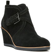 Franco Sarto Arielle Leather Brogue Wedge Booties