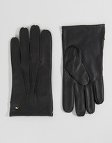 Tommy Hilfiger Basic Leather Gloves