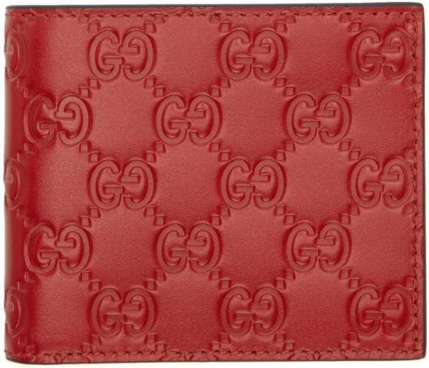 Gucci Red Signature Wallet