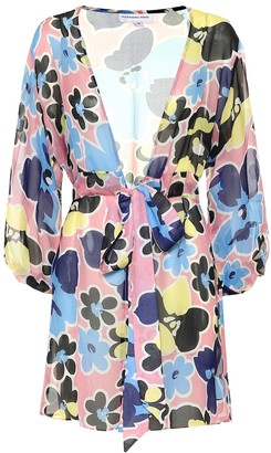 Alexandra Miro Mini Belinda Gown silk kaftan