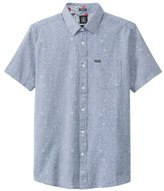Volcom Men's Don Pendleton Stone Shortsleeve Woven Shirt 8139685
