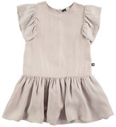 Molo Claire Sleeveless Smocked Dress, Gray, Size 3T-12