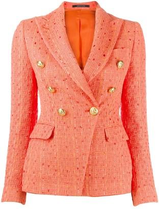 Tagliatore Jalicya tweed blazer