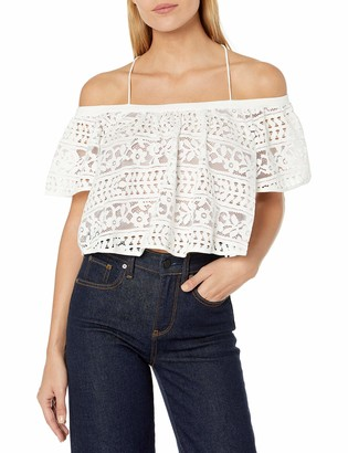 Plenty by Tracy Reese Women's Off Shoulder Blouse
