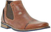 Dune Chili Toecap Chelsea Boot, Tan