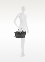 Valentino Garavani Rockstud Black Leather Tote