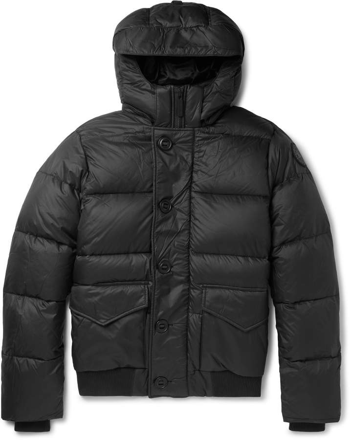 5b1fb4ec2 Ventoux Quilted Nylon Hooded Down Jacket