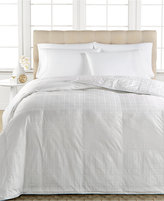 Spring Air Active Cool Moisture Wicking Down Alternative Twin Comforter, 100% Cotton Cover with Eurobox Design