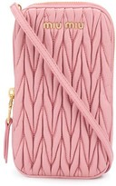 Miu Miu matelasse mini crossbody bag