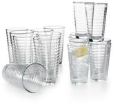 Libbey Hoops 16 Piece Glassware Set