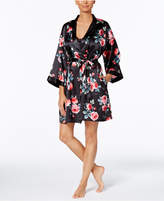 Thalia Sodi Banded Floral-Print Wrap Robe, Created for Macy's